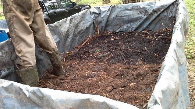 Gambar Foto Cara Membuat Pupuk Kompos Organik Padat